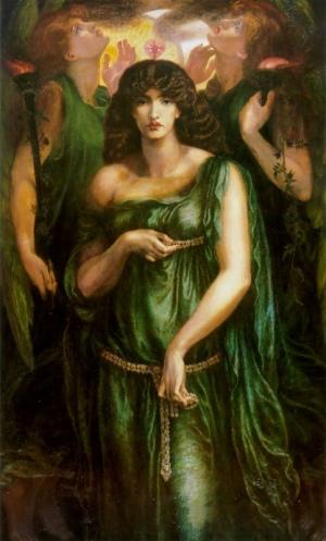 Astarte Syriaca, Dante Rosetti